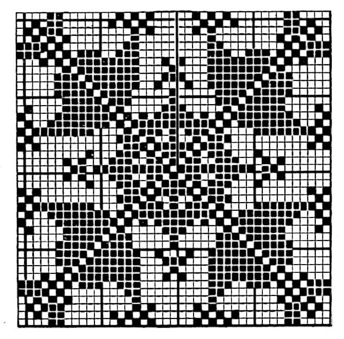 Vintage Filet Crochet Pattern Mayfair Bedspread - Vintage Crafts .