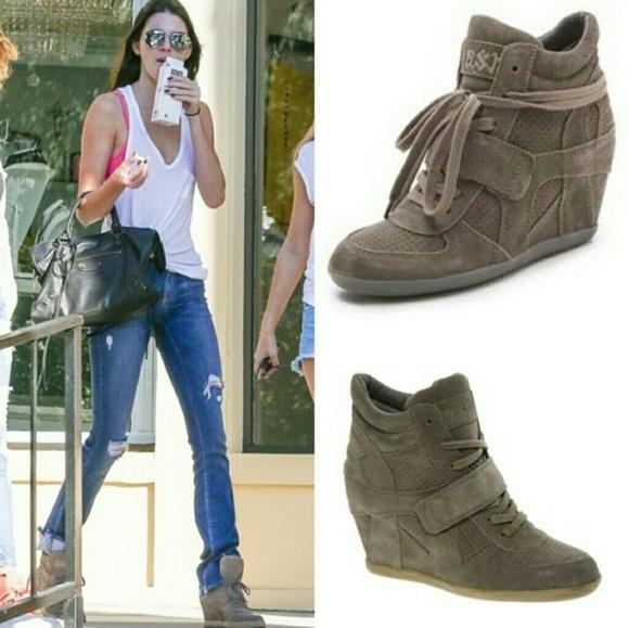 Ash Shoes | Italy Wedge Sneaker Hidden 38 75 8 | Poshma