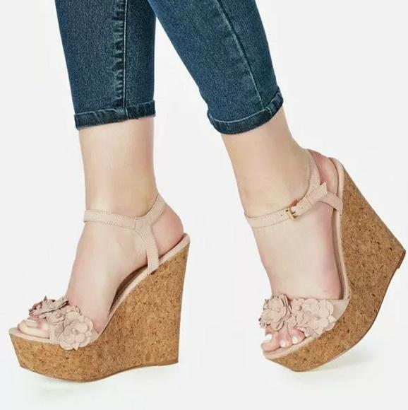 JustFab Shoes | Cute Wedge Heels | Poshma