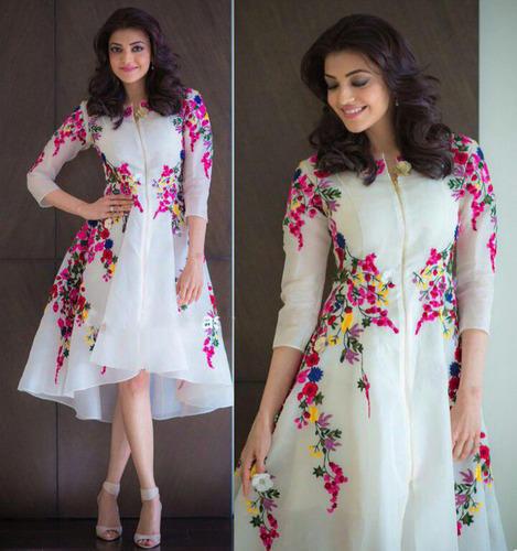 Ladies Western Dress Women Wear We Will Fashion Surat Flower Girl .