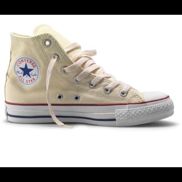 Converse Shoes | Iso Creamoff White High Top | Poshma