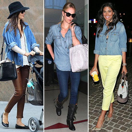 Women's Denim Shirt – Stylish and Easy To Wear « GotApparel.com .