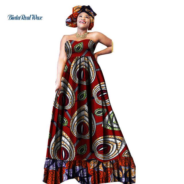 African Print Dresses for Women A line Long Pregnant Women Dresses .