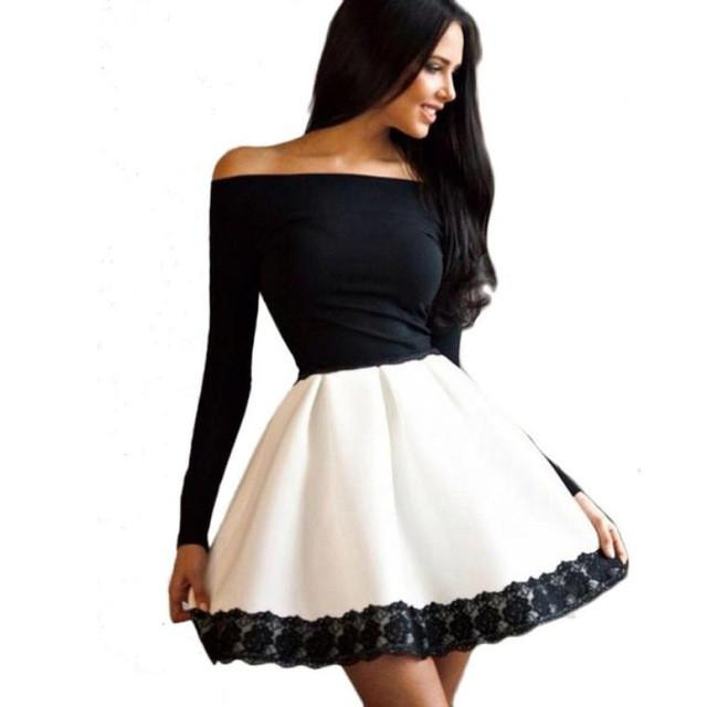 Fashion Dress 2017 Women Dresses for Office Lady Sexy Outwear Off .