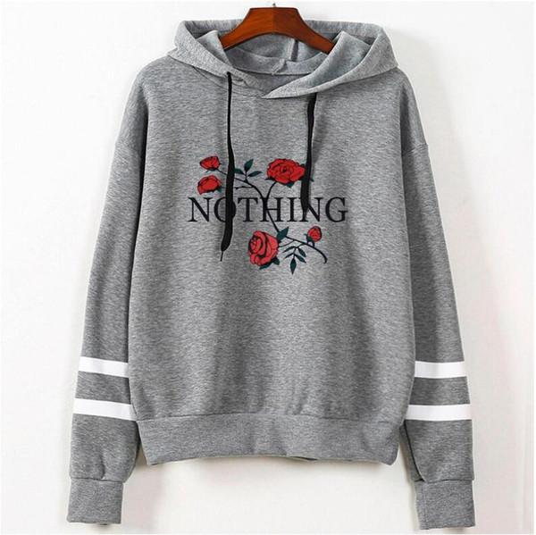Yizlo Autumn Rose Hoodies Women Sweatshirts Hoodie Luxury Hoodie .