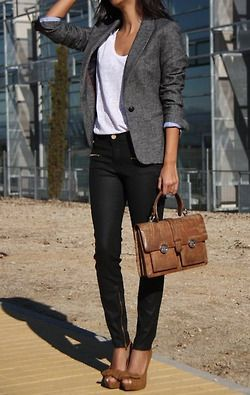 46 Trendy Ideas for Combining Blazer with Jeans | Fashion, Work .