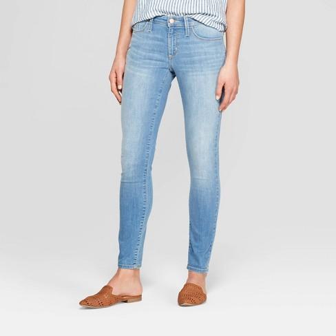 Women's Mid-Rise Skinny Jeans - Universal Thread™ Light Wash : Targ