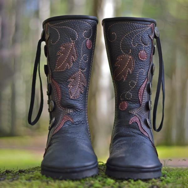 Women's Shoes - New Casual Comfortable Handmade Leather Boots .