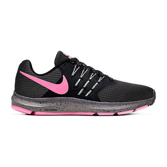 Nike Run Swift Womens Running Shoes-JCPenney, Color: Blk Pink Gunsmo