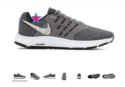 Amazon.com: Bling Women Running Shoes Dark Gray Nike Run Swift .