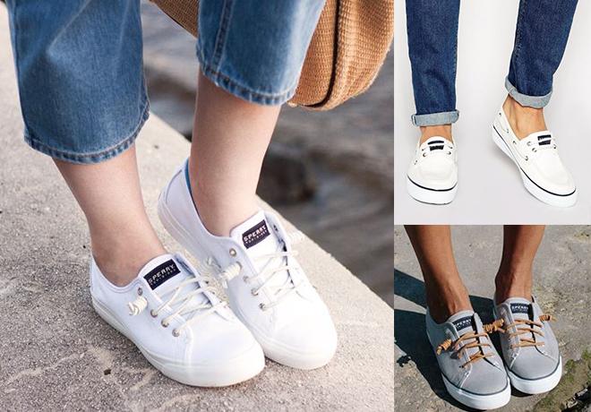 HOT* $31 (Reg $75) Sperry Men's & Women's Sneakers + FREE Shipping .