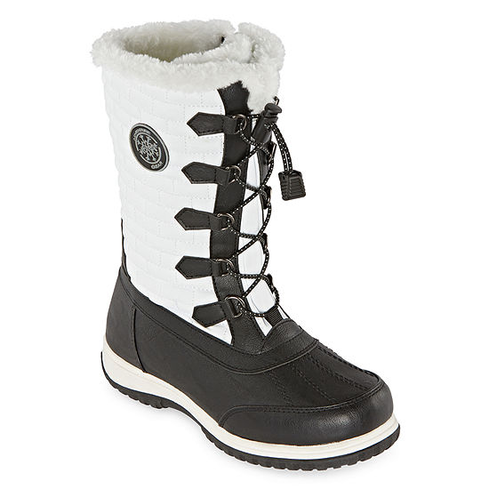 Totes Womens Cleo Waterproof Winter Boots Flat Heel - JCPenn