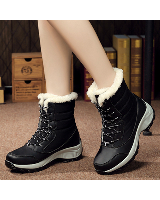 Don't Miss These Deals on Women's Winter Boots Plush Outdoor Work .