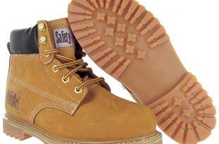 Amazon.com: Safety Girl II Womens Work Boots - Tan Steel Toe .