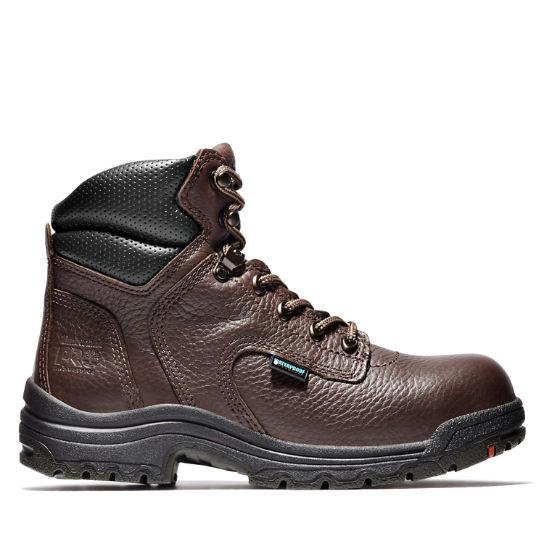 "Women's Timberland PRO® TiTAN® 6"" Alloy Toe Work Boots ."
