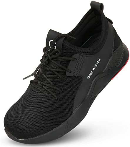 Amazon.com: Men Steel Toe Safety Work Shoes,Mesh Breathable .