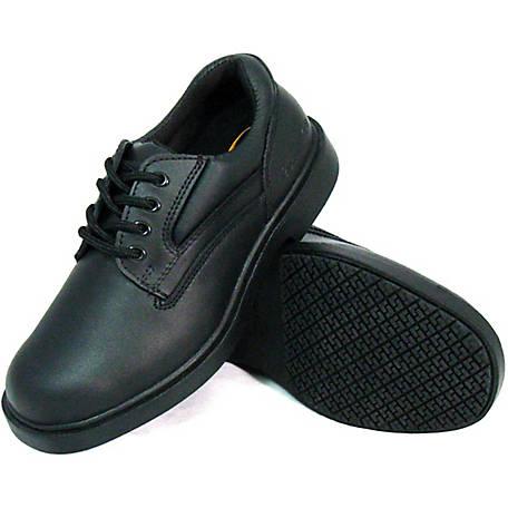 Genuine Grip Men's #7100 Slip-Resistant Oxford Work Shoes at .